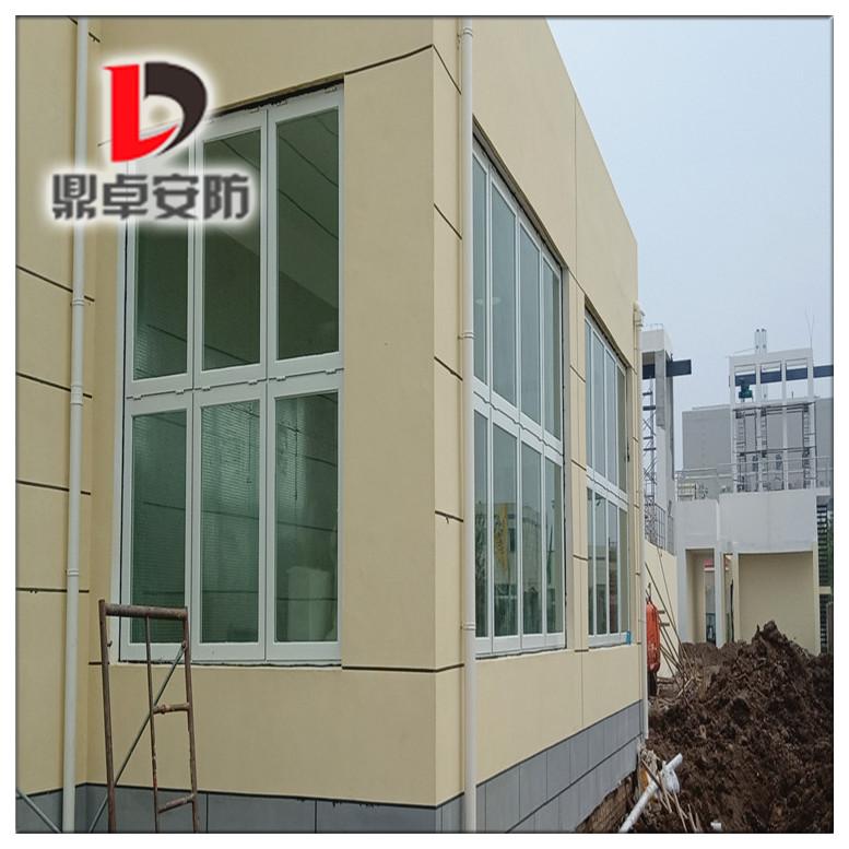 鼎卓铝制泄爆窗安装现场-安徽氢气厂项目工程
