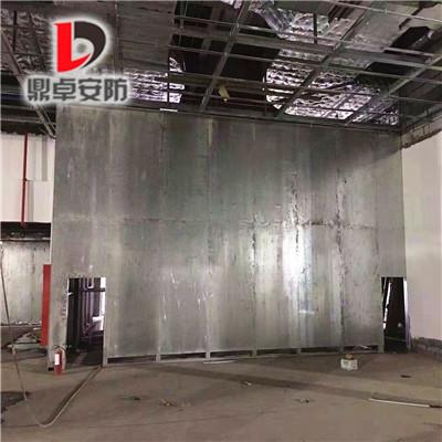 鼎卓防爆墙与济南水厂工程项目签约