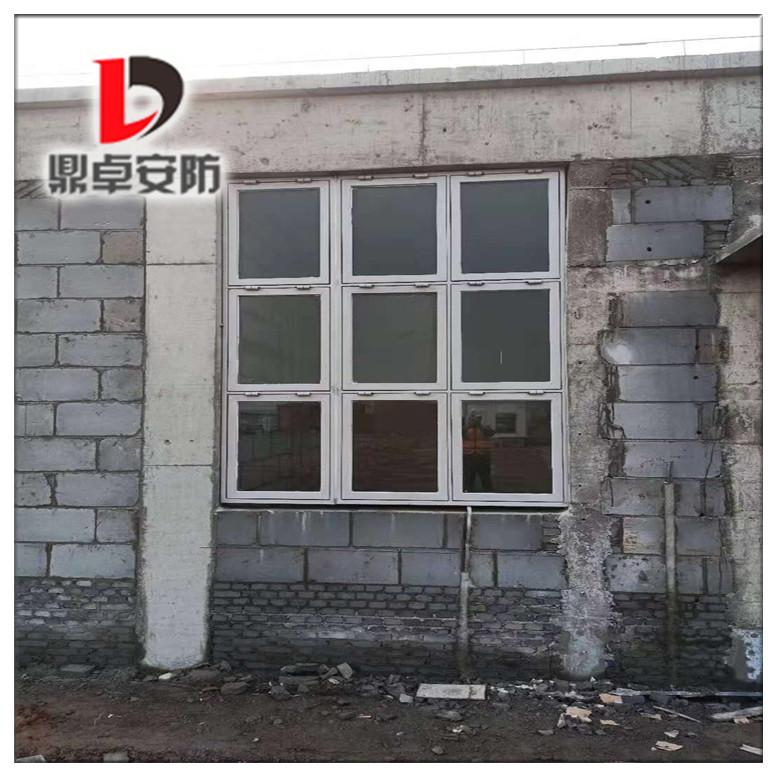 鼎卓铝制泄爆窗厂家-河南中控室安装验收现场